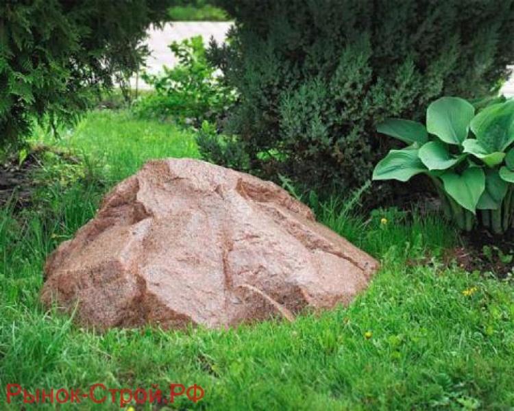 Камень «Люкс» D-80 Закрывает крышку канализационного люка.