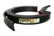Бордюр лента Кантри (country) садовый пластиковый черный Б-1000.2.11-ПП